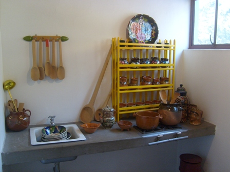kahlo,rivera,kitchen,museo casa estudio